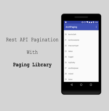 Rest API Pagination with Paging Library
